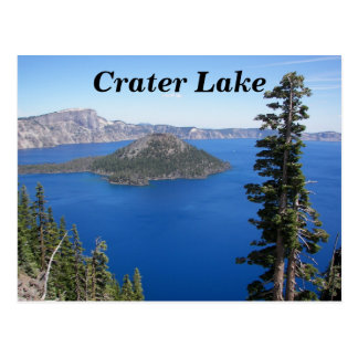 Crater Lake National Park Travel Postcard