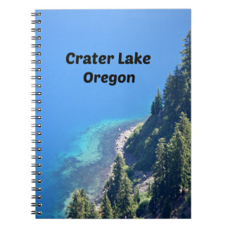 Crater Lake, Oregon Notebook