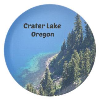 Crater Lake, Oregon Plate