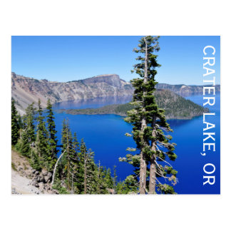 Crater Lake, Oregon Postcard