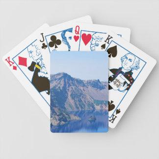 Crater Lake Phantom Ship Bicycle Playing Cards