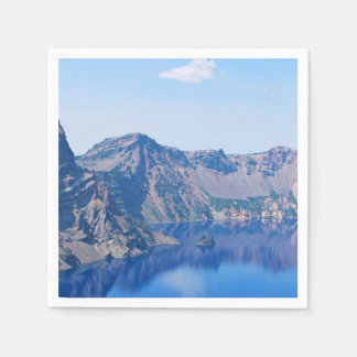 Crater Lake Phantom Ship Disposable Serviette