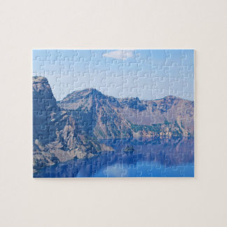 Crater Lake Phantom Ship Jigsaw Puzzle