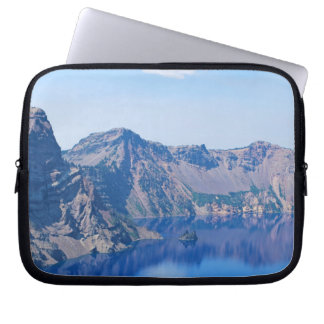 Crater Lake Phantom Ship Laptop Sleeve