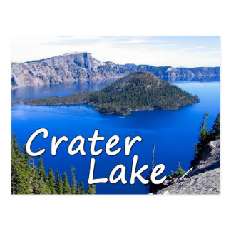 Crater Lake Postcard