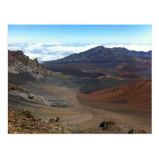 Crater of Haleakala Volcano, Maui, Hawaii Postcard