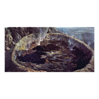 Crater Pacific By Hodges William (Best Quality) Photo Card