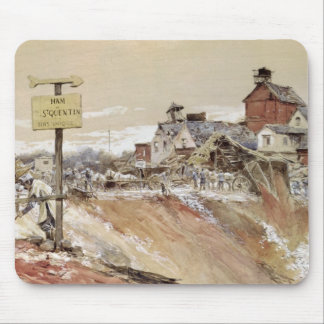 Craters at Ham-Saint-Quentin Mouse Pad