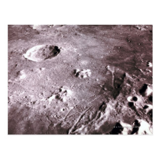 Craters on the Moon Postcard