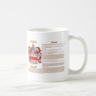 craven meaning coffee mug