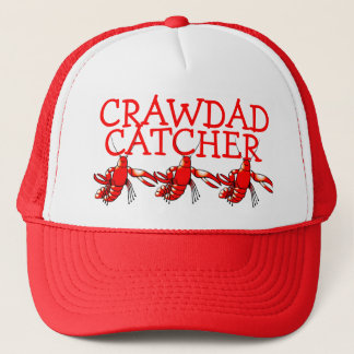 Crawdad Catcher Trucker Hat