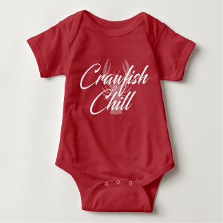 Crawfish and Chill Baby Baby Bodysuit