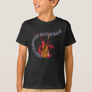 Crawfish Blues Band Bassist T-Shirt