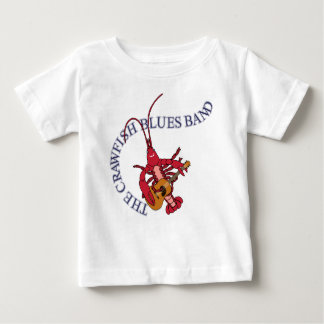 Crawfish Blues Band Guitar Player Baby T-Shirt