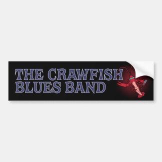 Crawfish Blues Band Harmonica Car Bumper Sticker