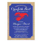 Crawfish Boil Engagement Party Shower Lobster Card