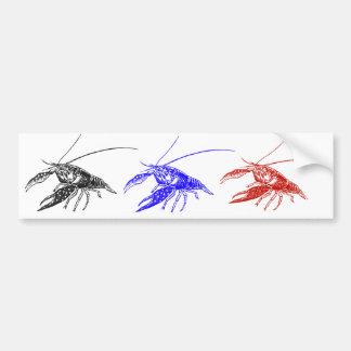 crawfish (crayfish) bumper sticker