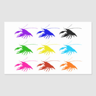 Crawfish (Crayfish) Rectangular Sticker