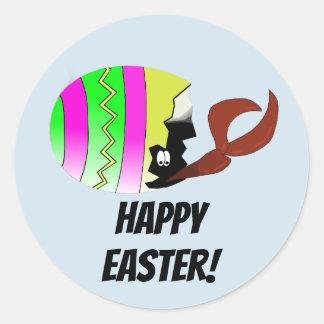 Crawfish Easter Egg Louisiana Cajun Stickers
