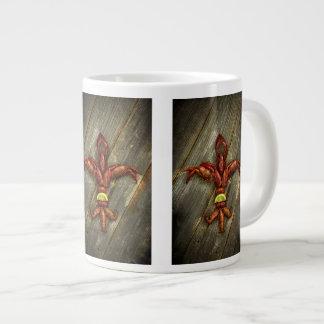 Crawfish Fleur-De-Lis Coffee Mug