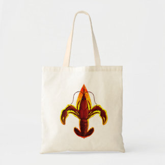 Crawfish Flier De Lis Handbag