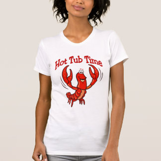 Crawfish Hot Tub Time T-Shirt