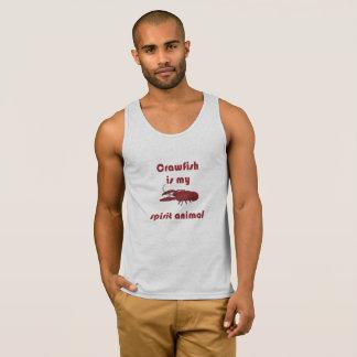 Crawfish Is My Spirit Animal Fun Cajun Tank