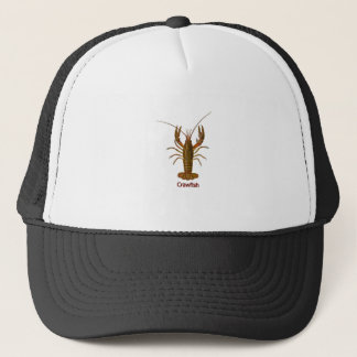 Crawfish Logo Trucker Hat