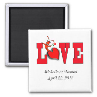 Crawfish Love Wedding/Engagement Magnets