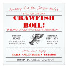 Crawfish or Low Country Boil Invitation