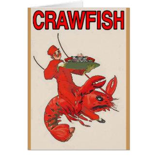 Crawfish Red Rider Card