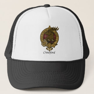 Crawford Clan Crest Trucker Hat