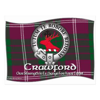 Crawford Clan Postcard