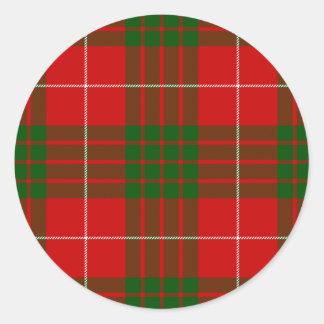 Crawford Classic Round Sticker