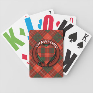Crawford Scottish Tartan Bicycle Playing Cards