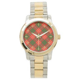 Crawford Tartan Two-tone Watch