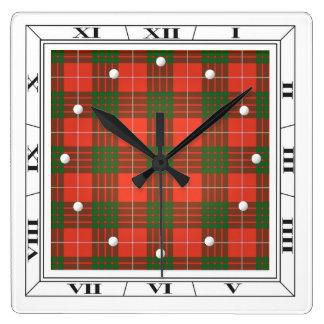 Crawford Tartan Wall Clock