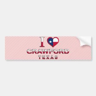 Crawford, Texas Bumper Sticker