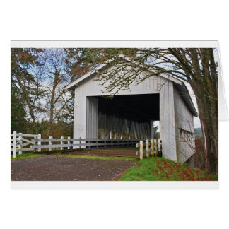 Crawfordsville Covered Bridge Greeting Card