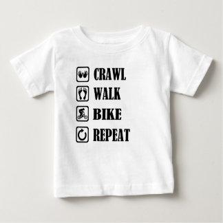 CRAWL WALK BIKE REPEAT BABY T-Shirt