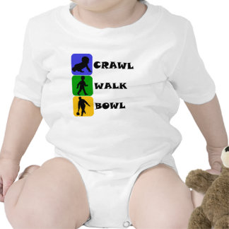 Crawl Walk Bowl Tshirt