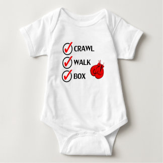 Crawl Walk Box Baby Bodysuit