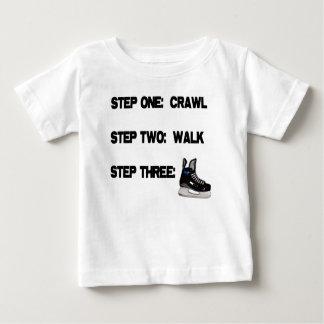 Crawl, Walk, HOCKEY! Baby T-Shirt