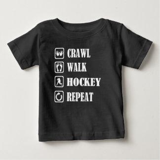 CRAWL WALK HOCKEY REPEAT BABY T-Shirt