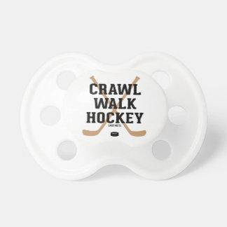 Crawl Walk Hockey Sticks Baby Dummy
