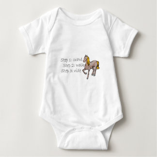 Crawl Walk Ride Baby Bodysuit