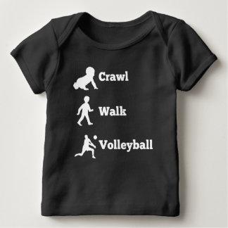 Crawl Walk Volleyball Baby T-Shirt