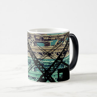 Crawler Crane Operating Engineer Tracks and Crane Magic Mug