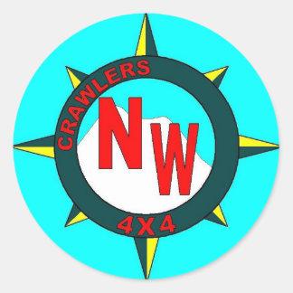 Crawlers NorthWest Logo Round Sticker