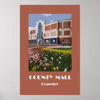 Crawley 1920s' retro-style poster